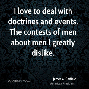 love to deal with doctrines and events. The contests of men about ...