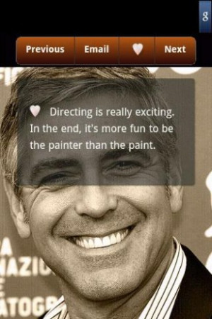 View bigger - George Clooney Quotes for Android screenshot