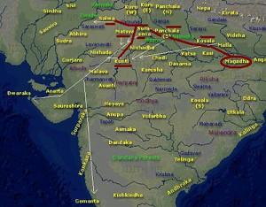 Impact of Jarasandha on other kingdoms