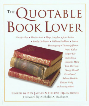 Book Lover Quotes The quotable book lover