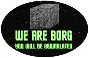 We are Borg. The first truly terrifying enemy in the entire Star Trek ...