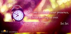 Quotes by Sri Sri Ravi Shankar on Celebration
