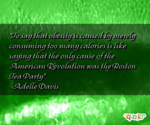 Funny Quotes On Obesity