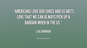 Americans love our shoes and us Brits love that we can always pick up ...