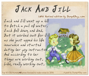 Top 10 Old Nursery Rhymes Revised- Jack and Jill