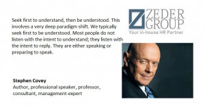 ... Stephen Covey Author, professional speaker, professor, consultant