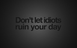 black background tumblr quotes idiots with 1280x800 Resolution