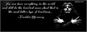 Freddie Mercury Quote Facebook Cover