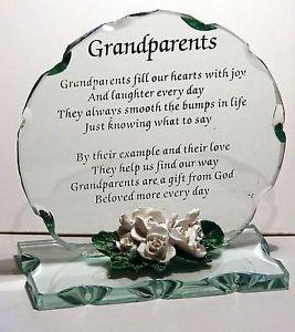 Grandparents Grandmother Grandfather Nan Granddad wedding Anniversary ...
