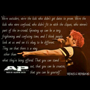 my chemical romance gerard way quote my chemical romance gerard way ...