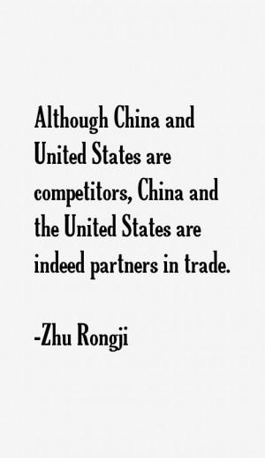 Zhu Rongji Quotes & Sayings