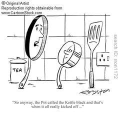 ... pot called kettle black more kettle black dam pots problems start call