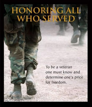 Veteran's Day 11/11/11