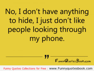 Funny quotes about your Phone book