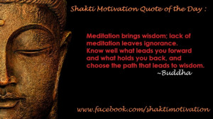 ... and choose the path that leads to wisdom. ~Buddha #meditation #quote