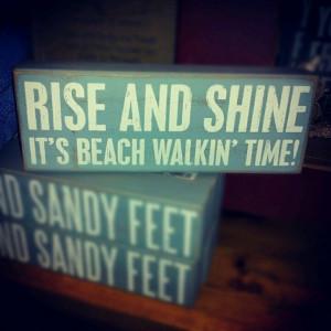 beach walkin time