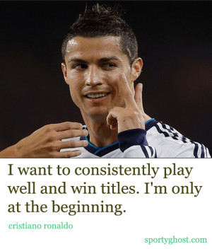 soccer quotes cristiano ronaldo quotes famous soccer quotes by ...