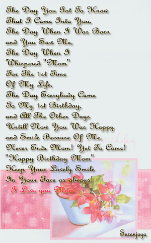 Mother Birthday Quotes, Mother Quotes, Birthday Quotes | FunStoc