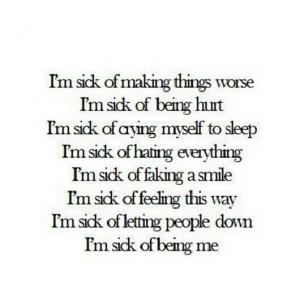 cute, im sick, love, pretty, quote, quotes, society