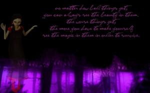 Rose - Wallpaper (Purple) by onigiribunnyskies