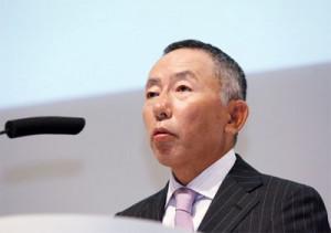 Japanese retailer Tadashi Yanai, who runs discount retail firm Fast ...