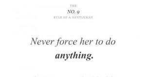 rule of a gentleman - Google-haku