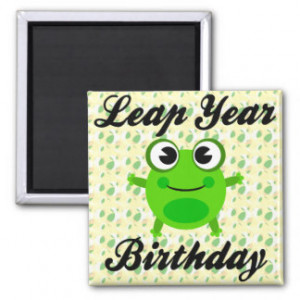 Leap Year Birthday Cute...