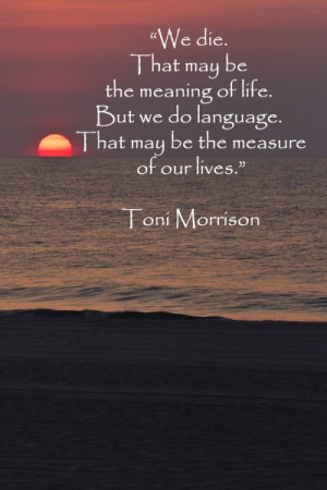 My Favorite Toni Morrison Quotes + My Career Day Talks & Workshop at ...