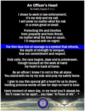 quotes about police officers death