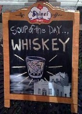 Drinking Jokes for Halloween - Soup of the day 'Whisky'