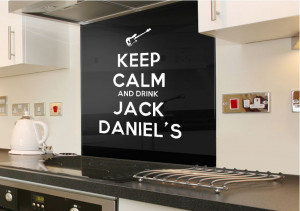 Quotes Keep Calm Jack Daniels Wall Stickers