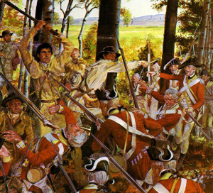 Montreal In The Battle Of Seven Year War