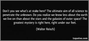 More Walter Reisch Quotes