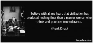 More Frank Knox Quotes