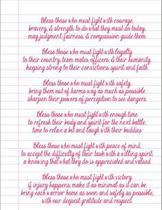 prayer for our soldiers ♥ More