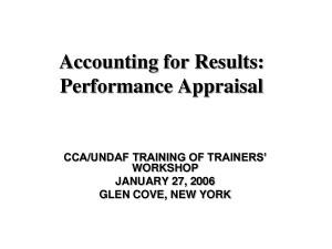 Performance Appraisal Sample For Secretary