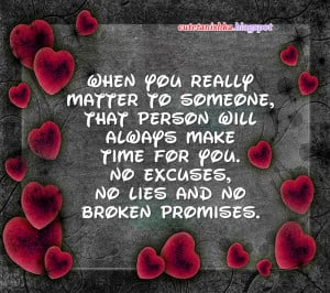 Broken Promises Wise Quote in English With Wallpaper