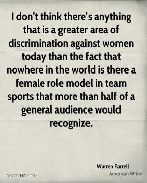 Essay on discrimination against women