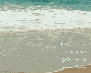 Inspirational Quotes About The Sea And Beach Blue Ocean Waves Pictures