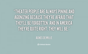 Quotes About Theater Preview quote