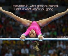 gymnastics quotes | Piper (piperthom) on We Heart It More