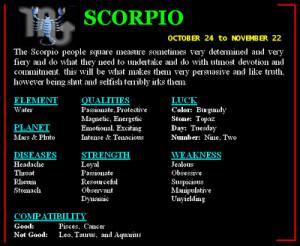 ... personality horoscope personality of scorpio zodiac sign scorpio image