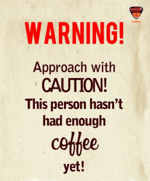 """So, who all are decaffeinated right now? """"Repin"""" to get counted!"""