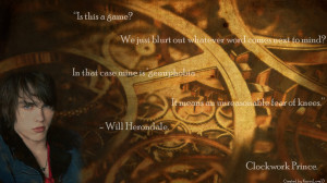 Will Herondale Quotes Will Herondale - Quote