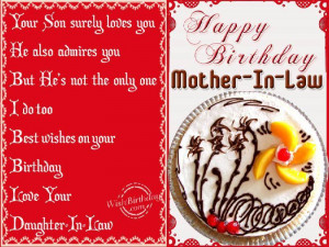 Happy Birthday Quotes For Mother In Law In Hindi ~ Happy Birthday ...