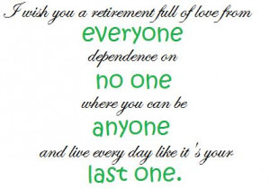 quotes best wishes card funny retirement quotes for women best wishes ...
