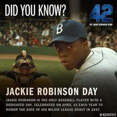42 Movie - Jackie Robinson Day More