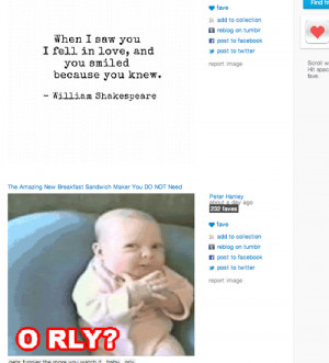 Search results for oh really orly lol funny baby ironic love quotes