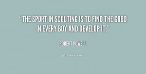Scouting Quotes
