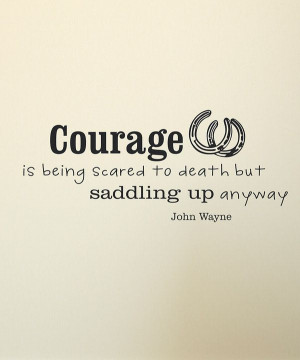 Take a look at this Black John Wayne Wall Quote on zulily today!